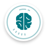 brain icon, ABA therapy